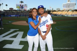 RJ and Holly Rod Peete