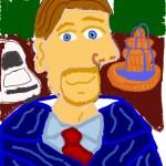 "Joel Anderson ""Picasso Style Self-Portrait"""