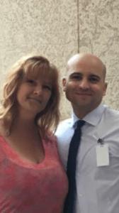 Ryan with his sister Lisa