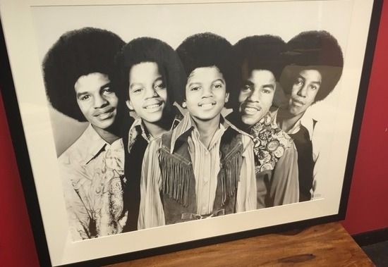 Chris Baker pencil drawing The Jacksons