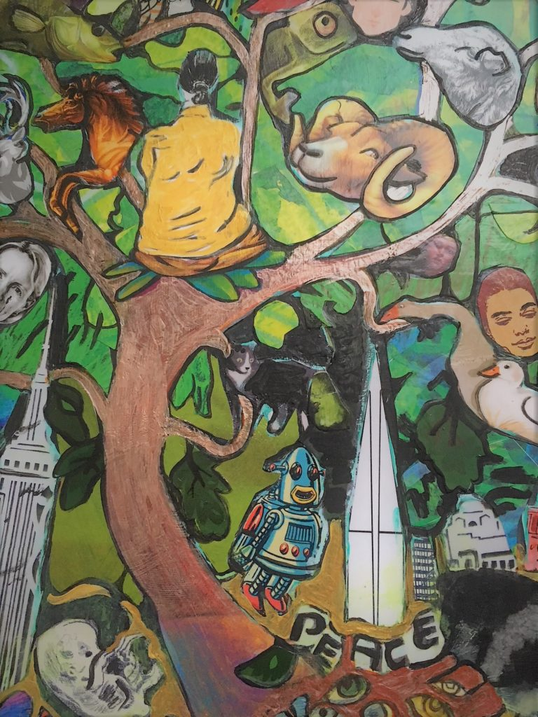 "Kimberly Tucker ""Diversity Collage Close-up"""
