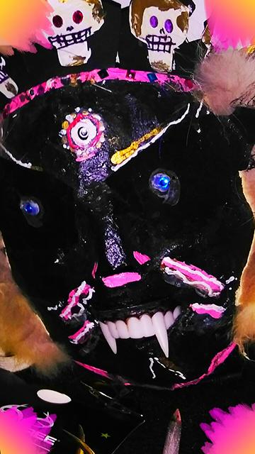 "Christian Espicha ""Tibetan Mask"""