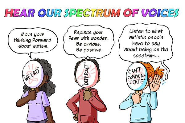 Hear Our Spectrum of Voices