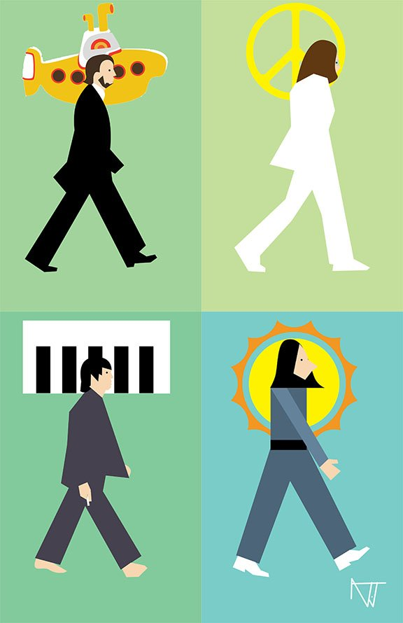 Austin John Jones Beatles