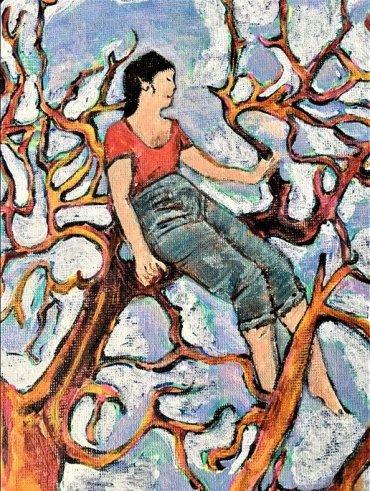 Women in Tree