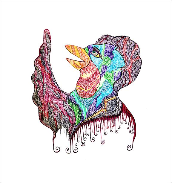 Tinamarie Nelmes art