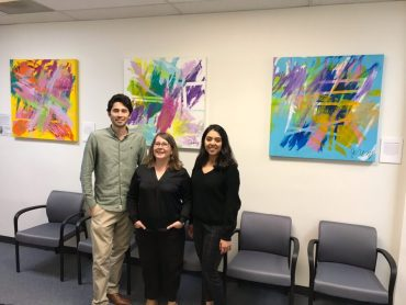 Art exhibit at San Diego State University Center for Autism