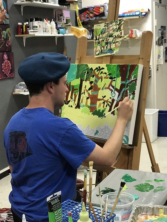 Radical Inclusion painter