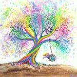 Nick Gustafson still more rainbow tree dreams