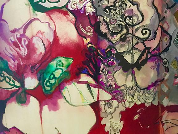 "Keri Bowers ""Non-Conforming Roses"""
