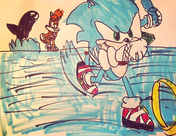Logan Martinez Sonic Hedgehog Art