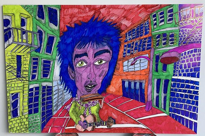 Nathan Schwabenland Dylan in Color