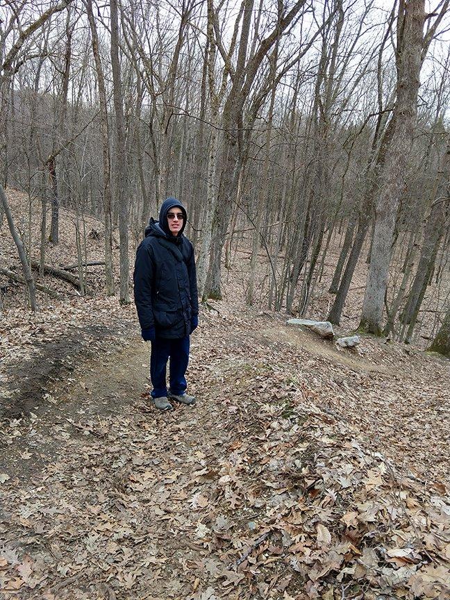Malcolm Hiking