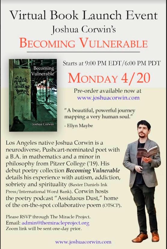 Joshua Corwin Becoming Vulnerable