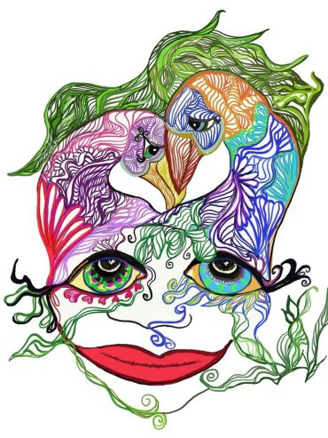 Tinamarie Nelmes Bird Brain