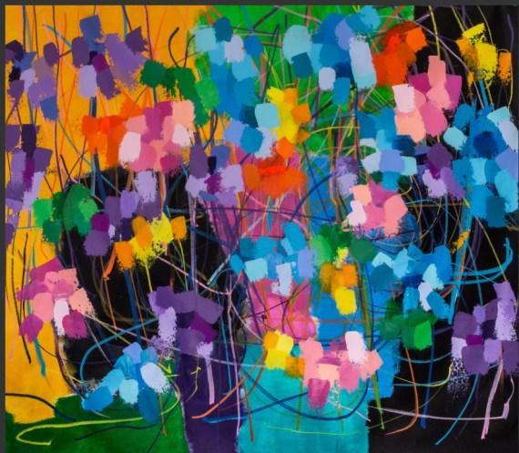 Nicholas Kontaxis Come Here Acrylic 50 x 65
