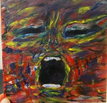 "Amanda Porche ""Pandemic Scream"""