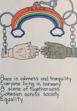 """Kelton Nix """"United Peace"""""""