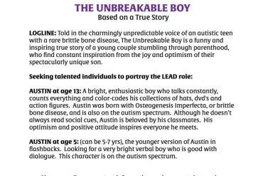 Unbreakable Boy: Based on a True Story