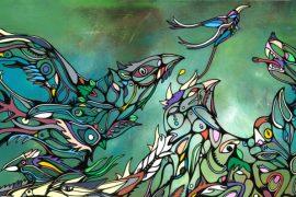 Moontain art
