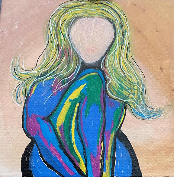 Sheryl Hanna Kumas Self-Portrait