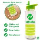 Clear AutoHotkey Water Bottle