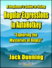 Regular Expressions in AutoHotkey