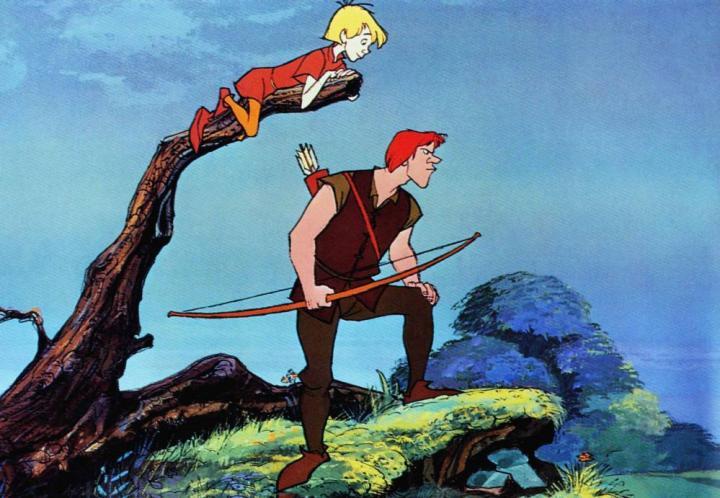 The-Sword-in-the-Stone-1963-Disney-Merlin-King-Arthur-13