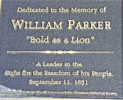 Parker plaque