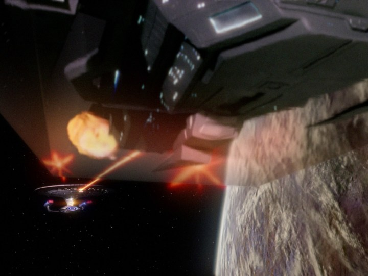 Enterprise_fires_on_warship