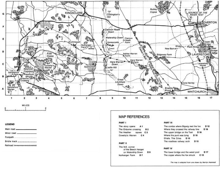 Watership-Book-Map
