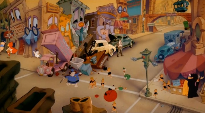 Downtown Toontown