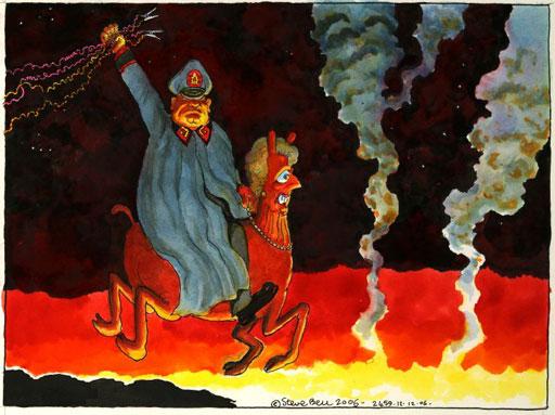 Pinochet cartoon2