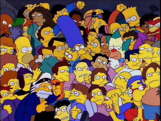 The Simpsons Season Six Episode Fourteen Bart S Comet The Avocado