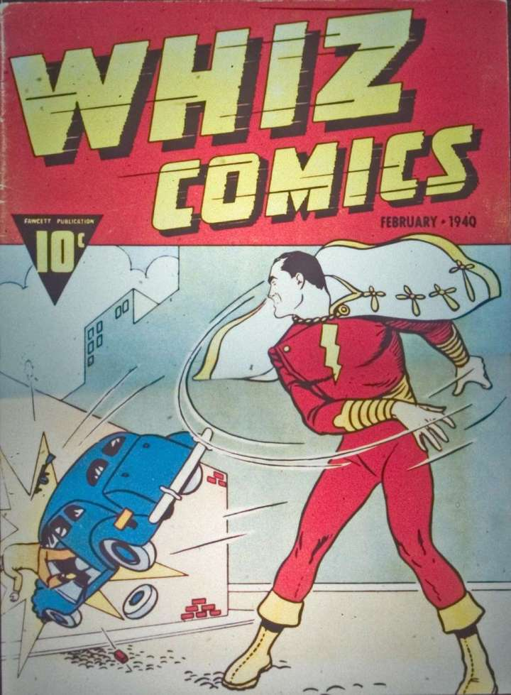 Whiz Comics 1 - Scan 1