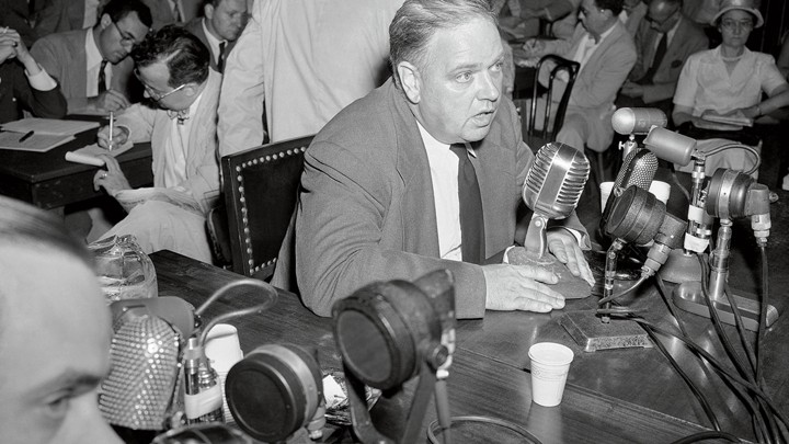 Whittaker Chambers  Speaking Testifying