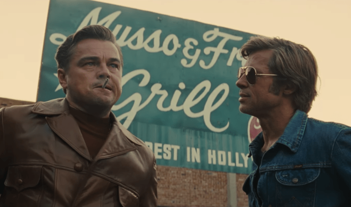 rick dalton and cliff booth in once upon a time in hollywood