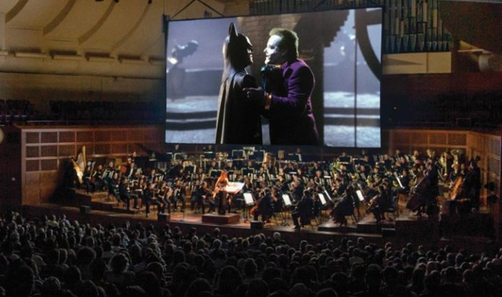 Batman theme live in concert.