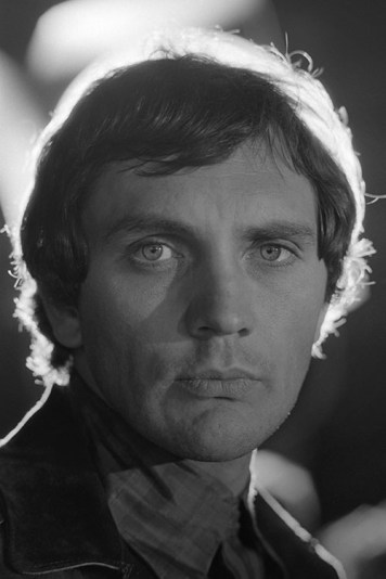 Terence Stamp in Amsterdam on the set of 'Modesty Blaise' in which he stars with Monica Vitti, 1966.