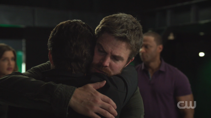 Arrow - Present Tense - Oliver & William Hug