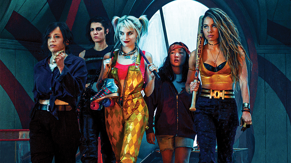 main characters from birds of prey