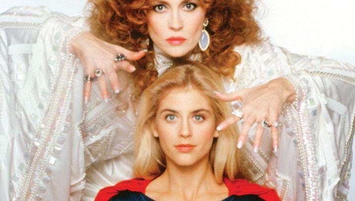 SUPERGIRL, Faye Dunaway, Helen Slater, 1984, © Warner Bros. / Courtesy: Everett Collection