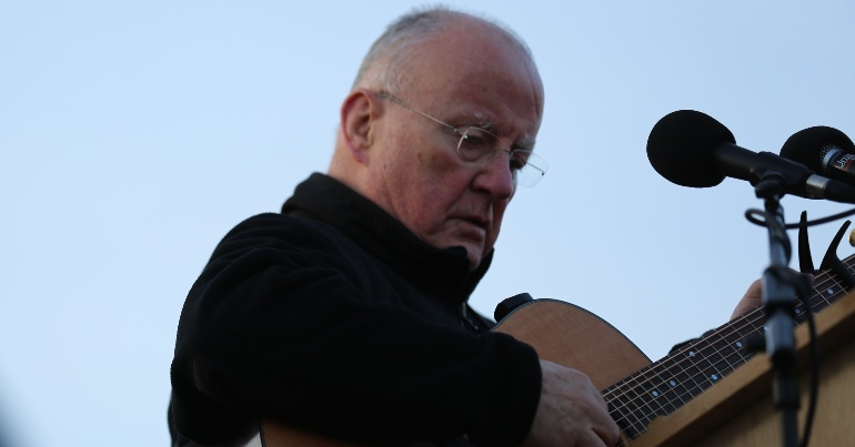 Christy Moore lends his support to upcoming Rally for Peace on Earth, calling on people to 'stand together against racism'