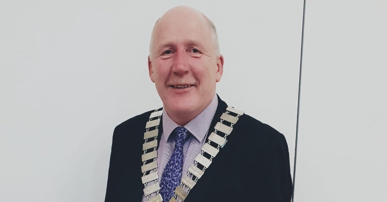 A photo of independent Galway councillor Noel Larkin
