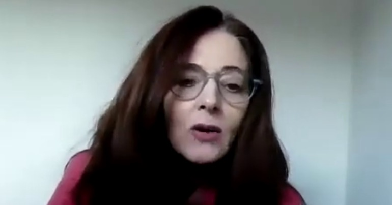 Anti-mask IPAT barrister Una McGurk says 'globalists' trying to implement a 'one-world government'