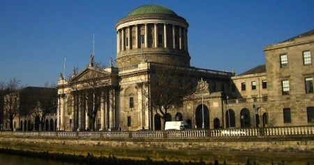 A photo of the Four Courts in Dublin, which played an integral part in undermining the latest far-right disinformation campaign.