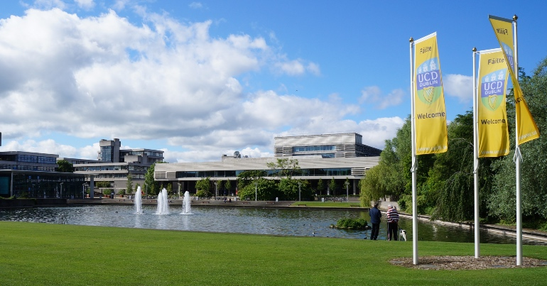 A photo of the UCD campus where, until recently, COVID denier Professor Dolores Cahill lectured in the School of Medicine.