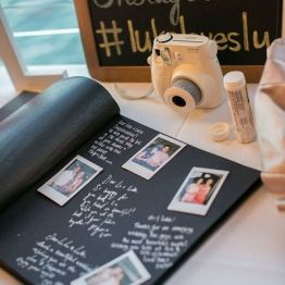 Dekor na svadbe - fotozona i zona pogelaniy (60)