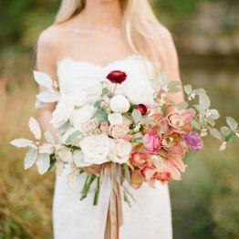 Stil svadby glamour buket nevesty (29)