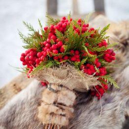 Svadba zimoi - buket nevesty (9)